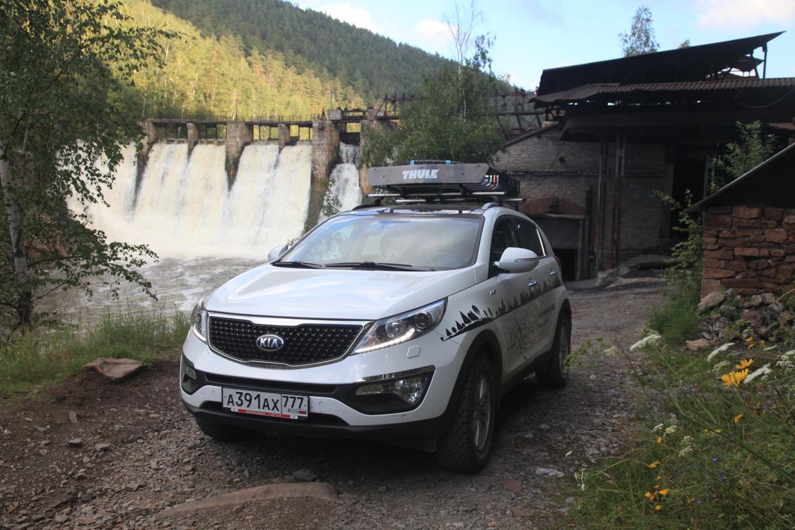 Kia Sportage: Дорога на Московский Автосалон