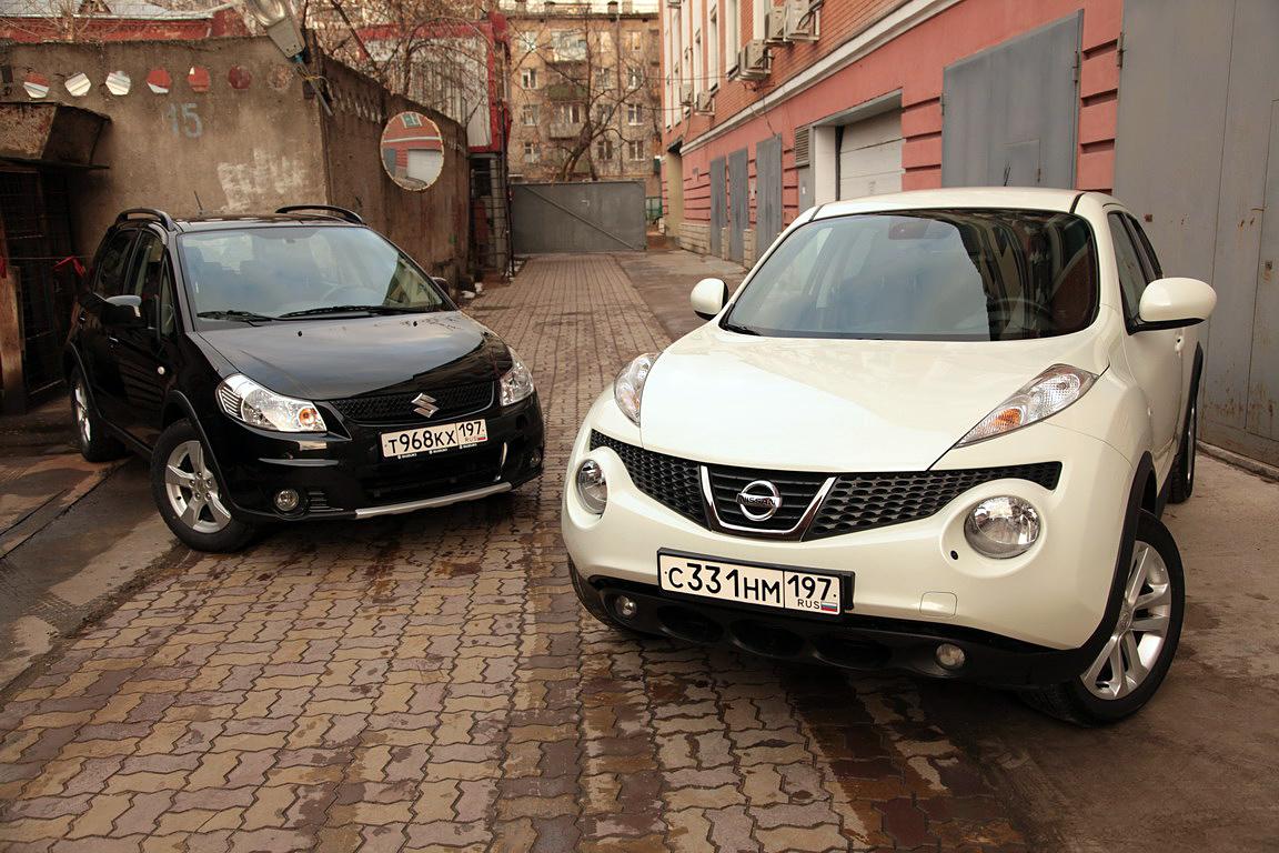 Suzuki SX-4 vs Nissan Juke: спор о возрасте