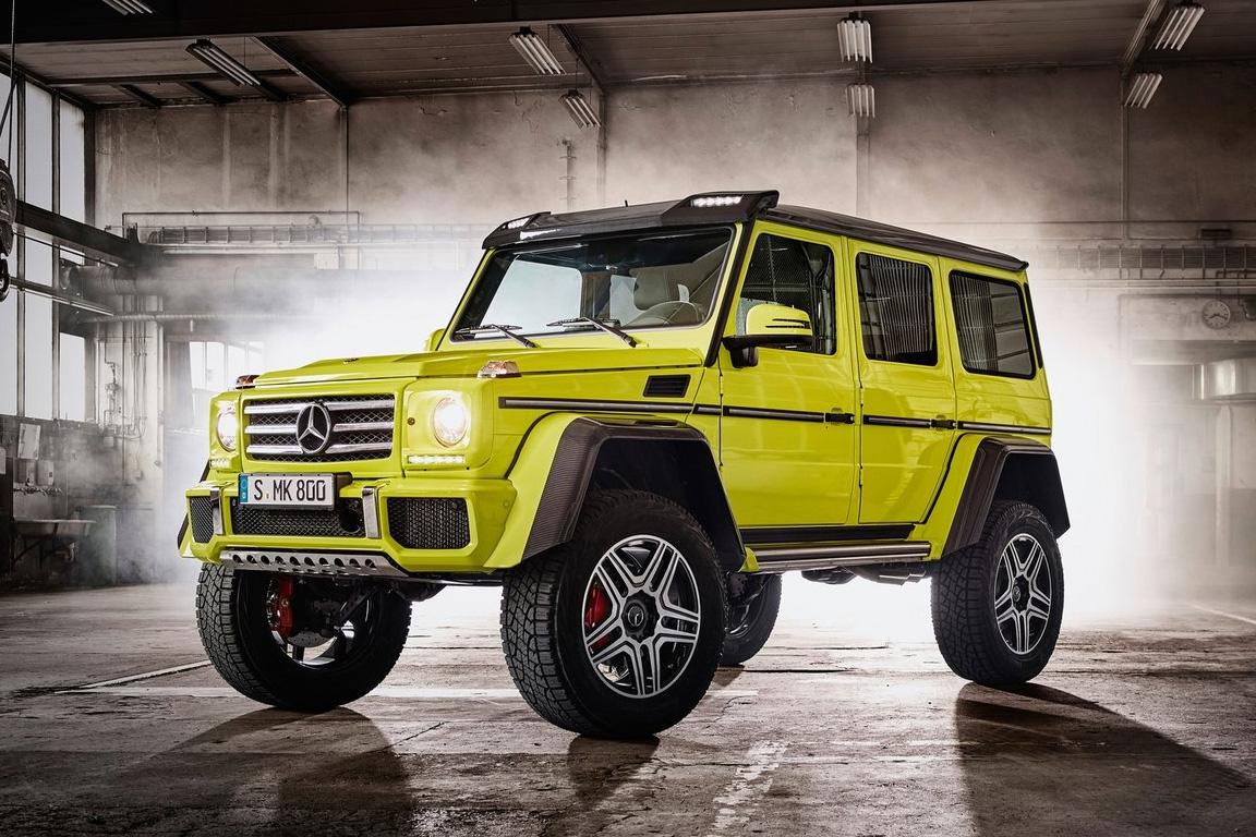 Компания Mercedes прекращает выпуск джипа G500 4x4
