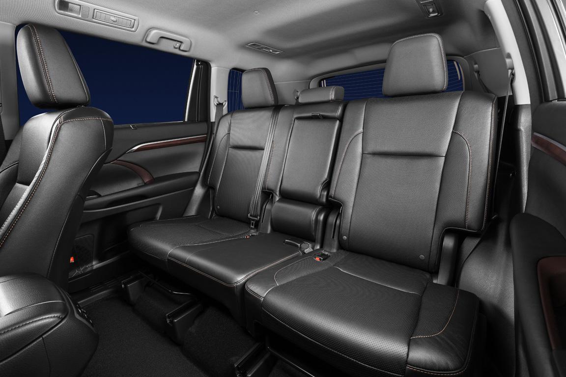 Toyota Highlander: Эволюция силы