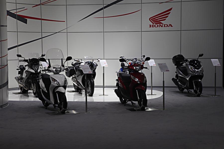 Honda на автосалоне во Франкфурте 2011