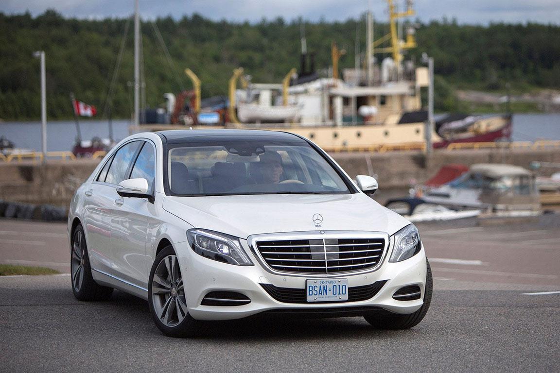 Mercedes-Benz S-Class: Везите меня семеро