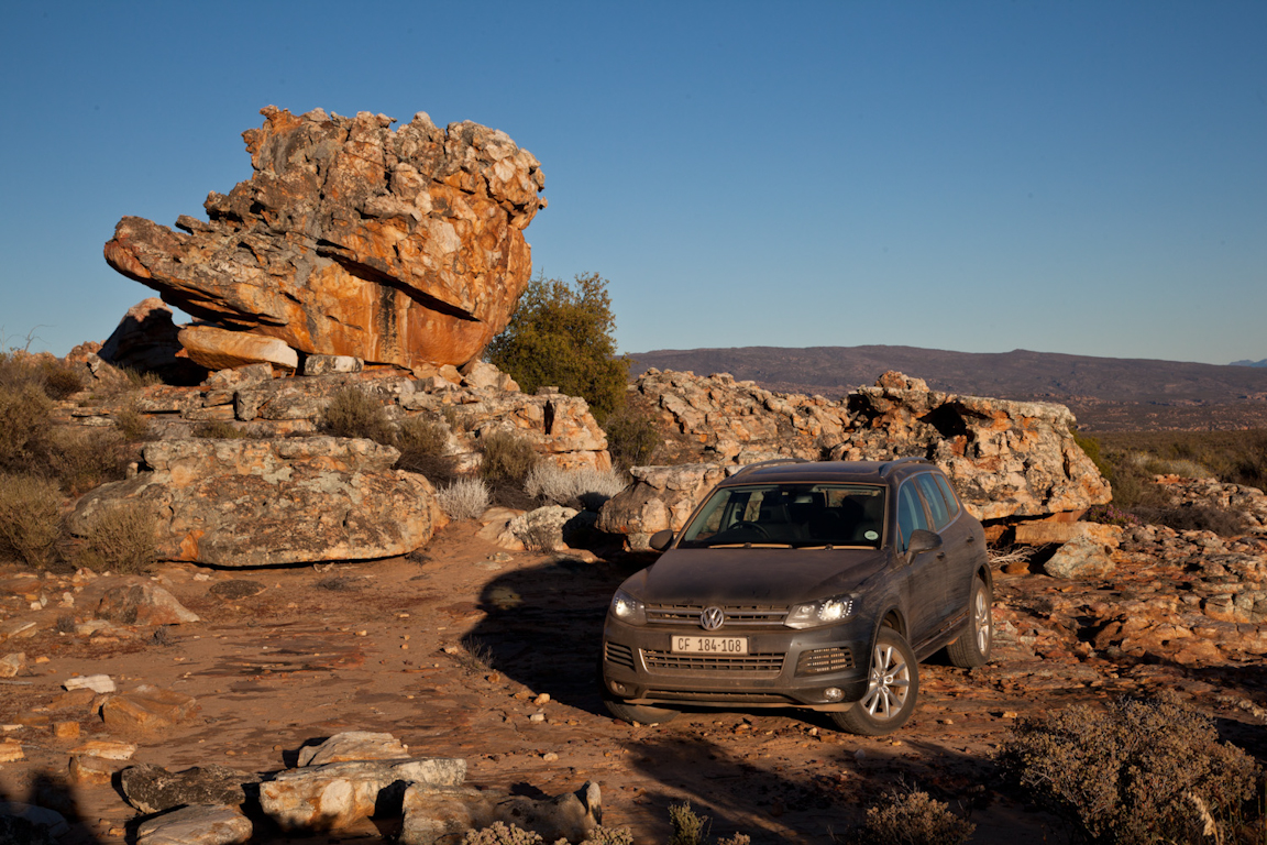Volkswagen Touareg: Большое африканское приключение