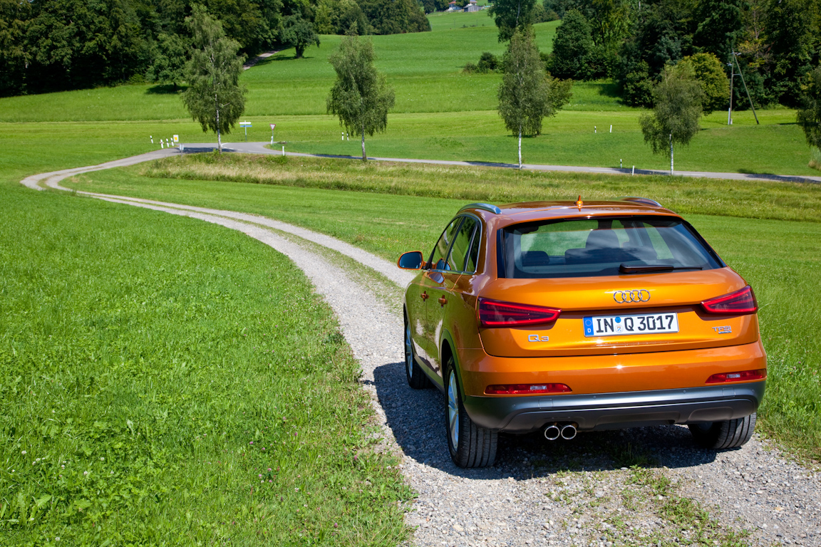 Audi Q3:Третий не лишний