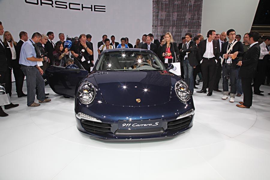Porsche на автосалоне во Франкфурте 2011