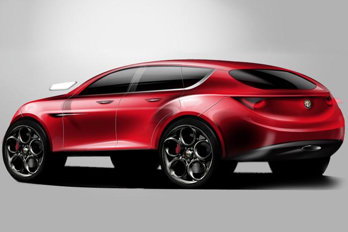 Alfa Romeo SUV 2016 concept