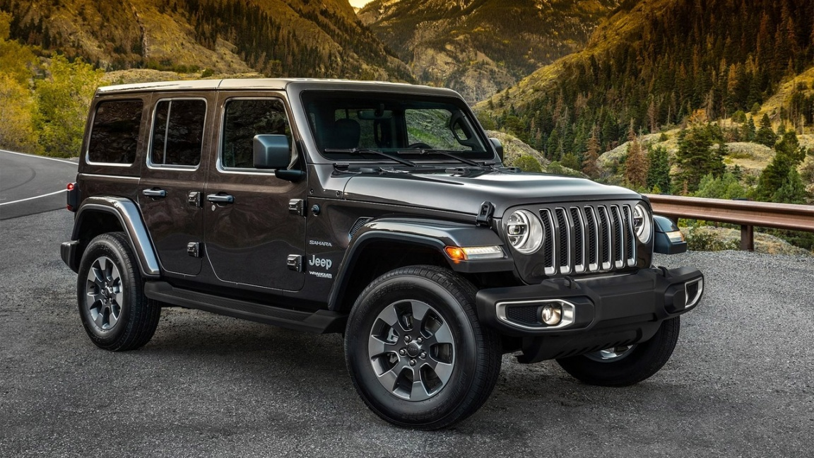 Jeep Wrangler 4D 2018