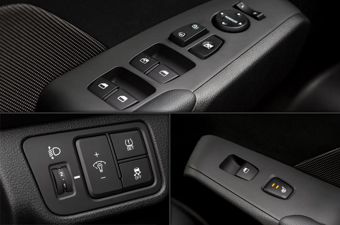 Hyundai Solaris Кнопки управления
