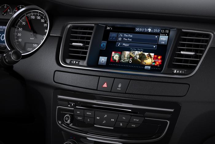 Peugeot 508 2014 интерьер