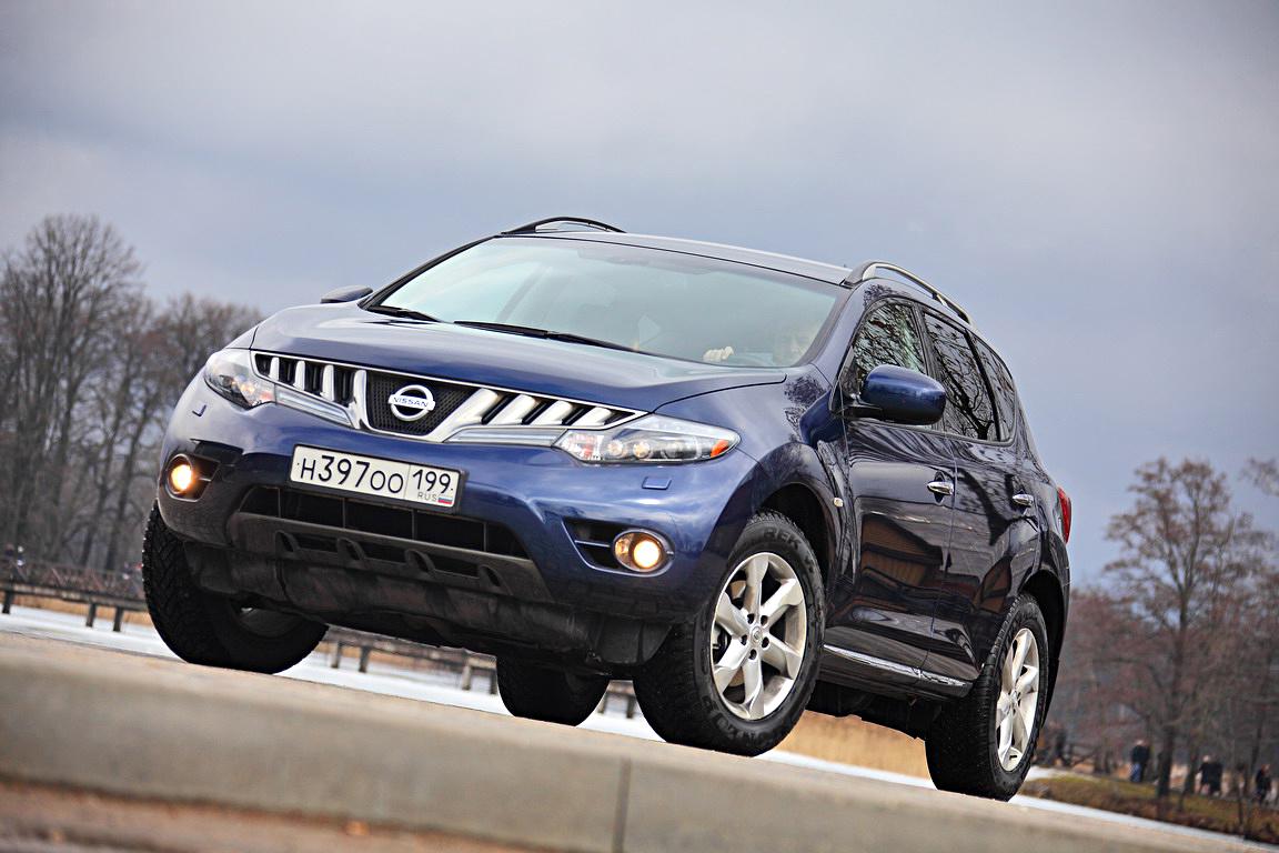 Nissan Murano: Комфортно и быстро