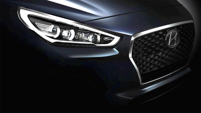 Первые фотографии нового Hyundai i30