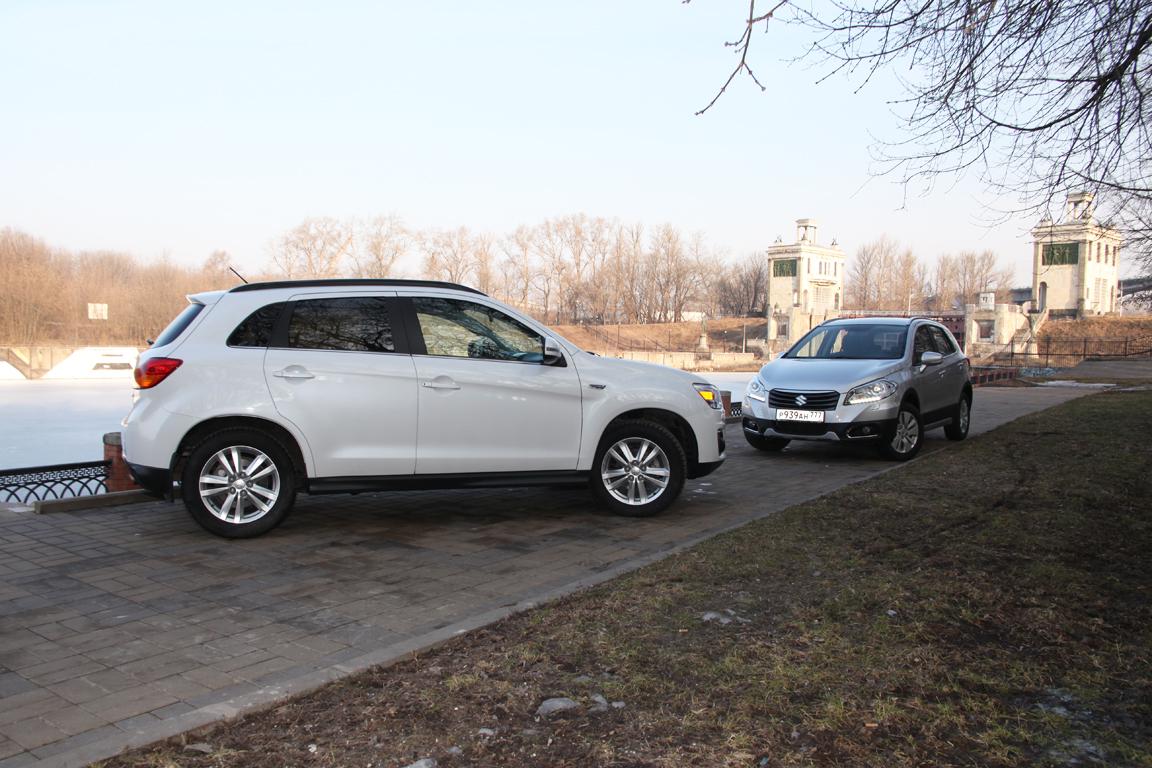 Suzuki SX4 vs Mitsubishi ASX: Вопрос стиля