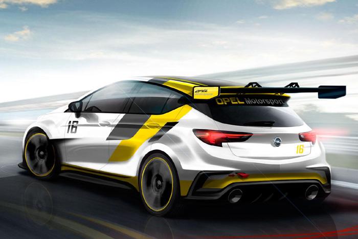 Opel Astra TRC