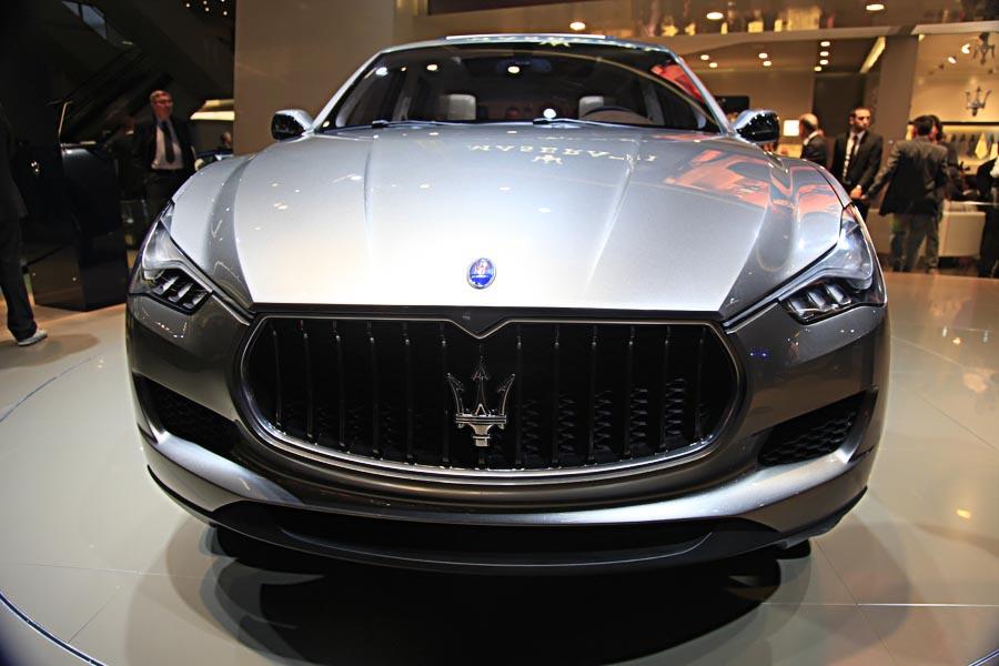 Maserati на автосалоне во Франкфурте 2011