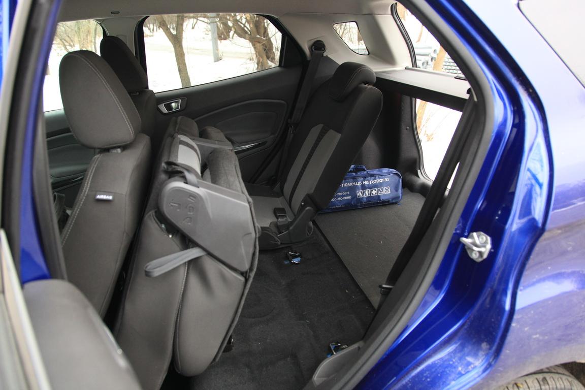 Ford EcoSport Задний ряд сидений