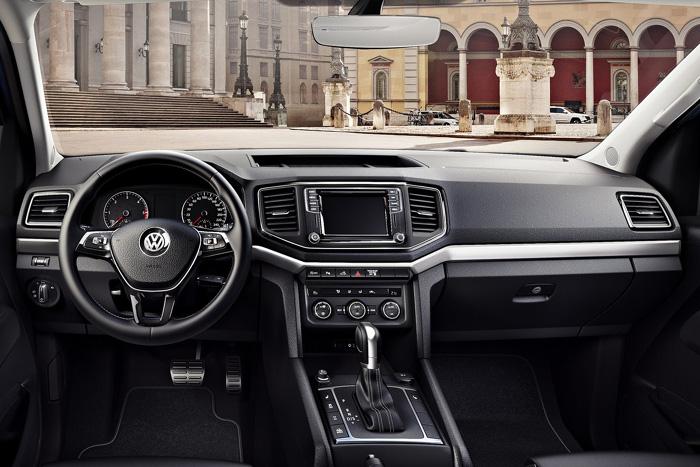 Обновленный Volkswagen Amarok