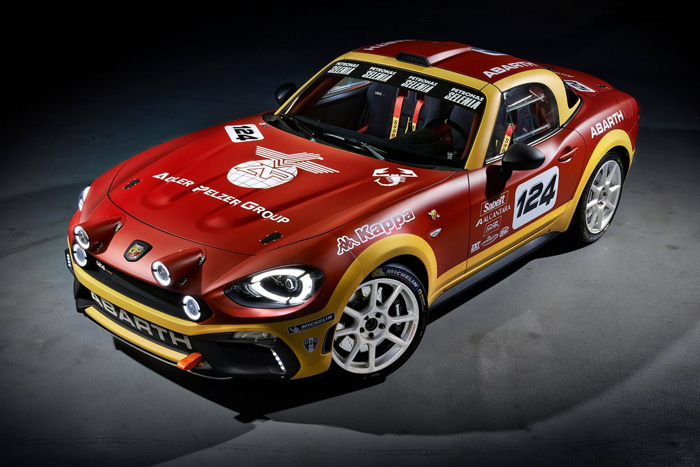 Fiat 124 Rally Abarth