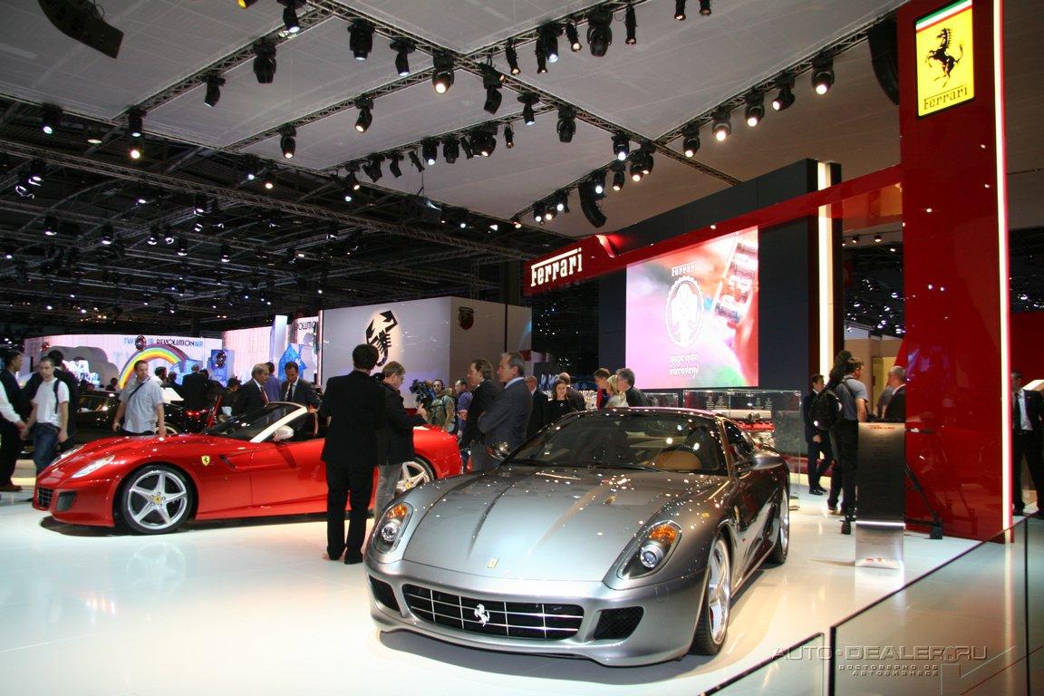 Ferrari на Парижском автосалоне