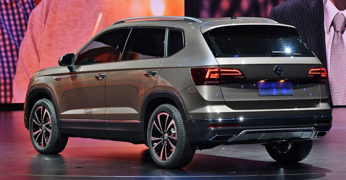 Volkswagen Powerful Family SUV