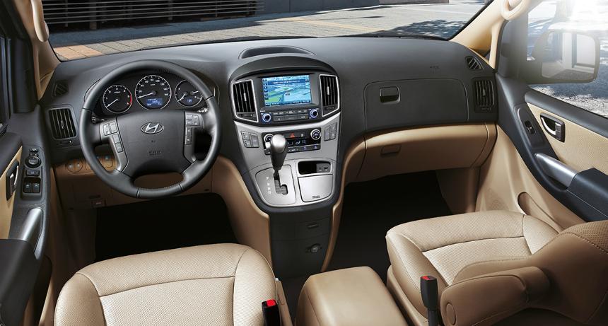 Обновленный Hyundai H1