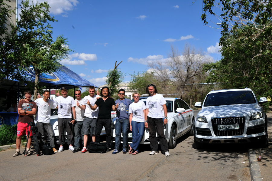 Москва – Байконур: юбилейная звездная экспедиция на Audi