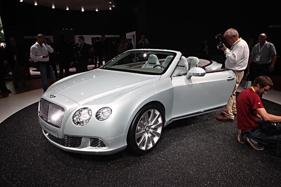 Bentley на автосалоне во Франкфурте 2011