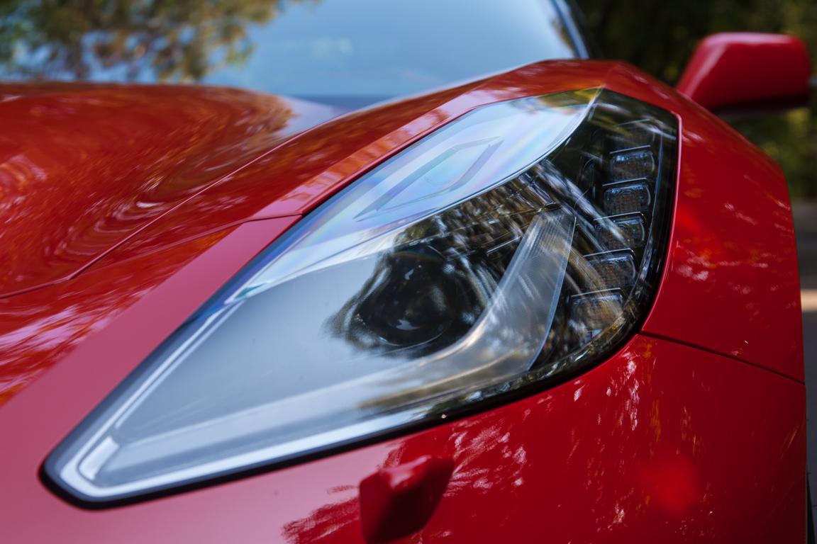 Chevrolet Corvette Stingray: Красный дьявол