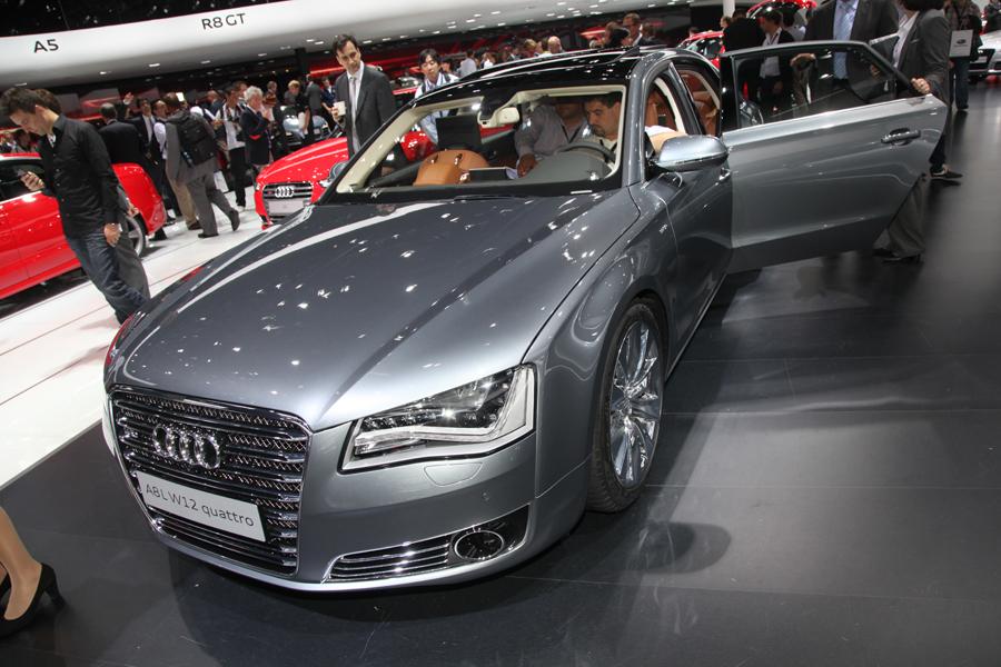 Audi на автосалоне во Франкфурте 2011