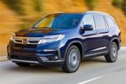 Honda анонсировала обновлённый Pilot в России