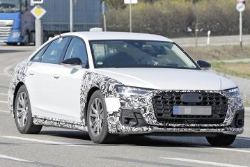 Audi готовит к обновлению семейство A8