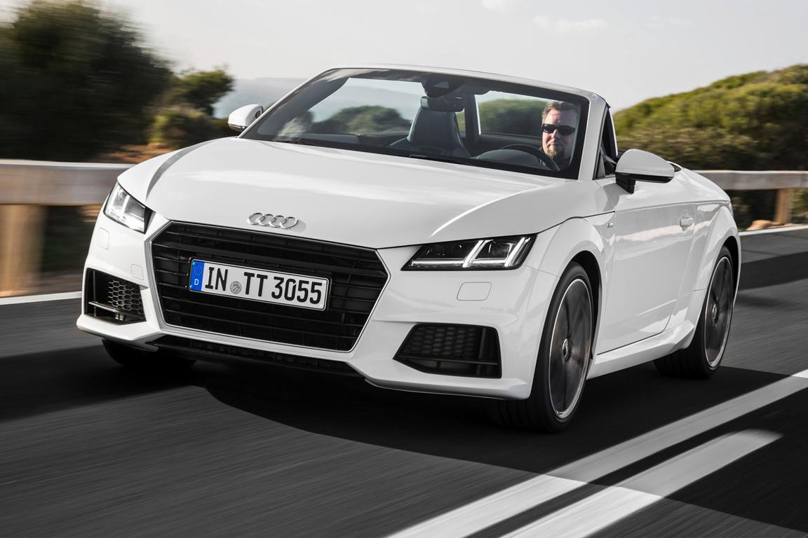 Audi TT Roadster 2014