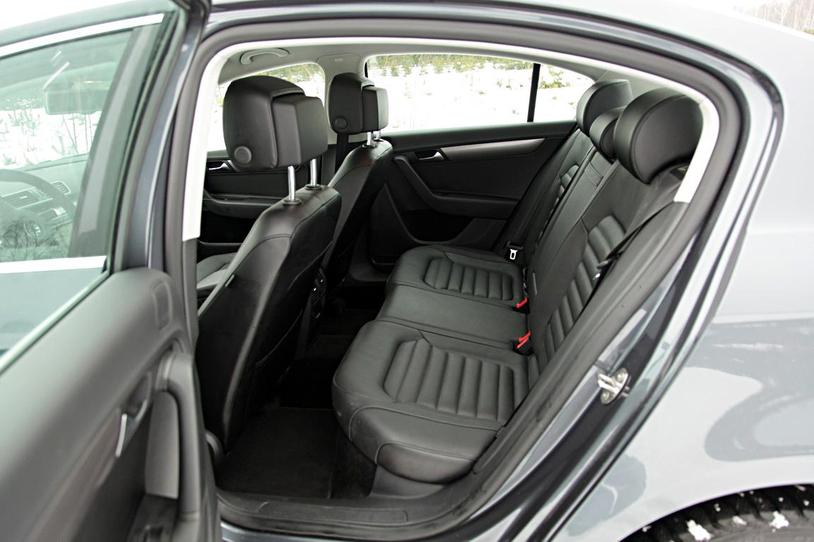 Volkswagen Passat: Обаяние форм