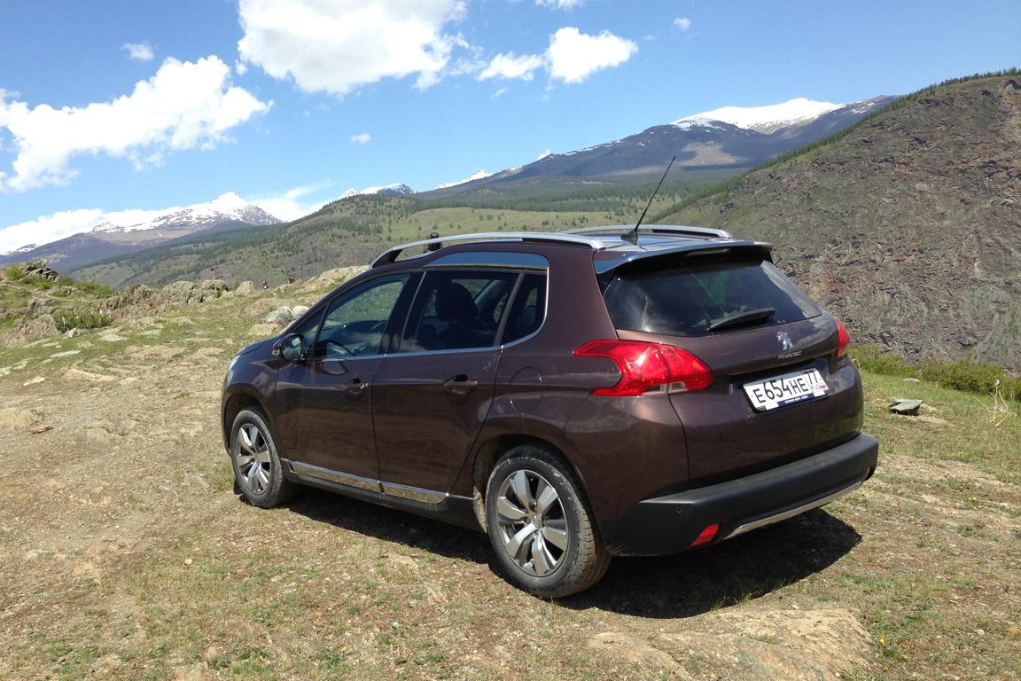 Peugeot 2008: Исследуем Алтай с французским львом