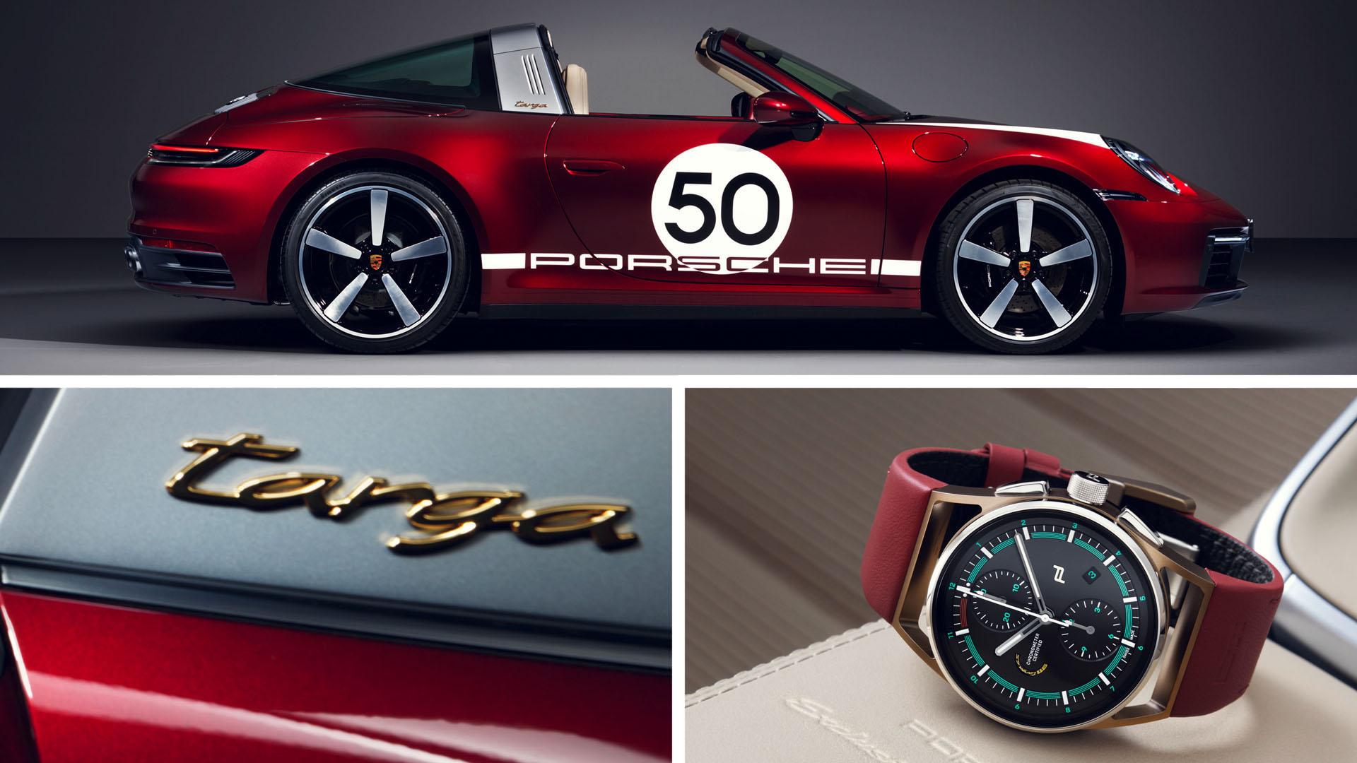 POrsche 911 targa 4 s Heritage Design Edition 2021
