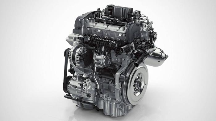 трехцилиндровый двигатель Volvo