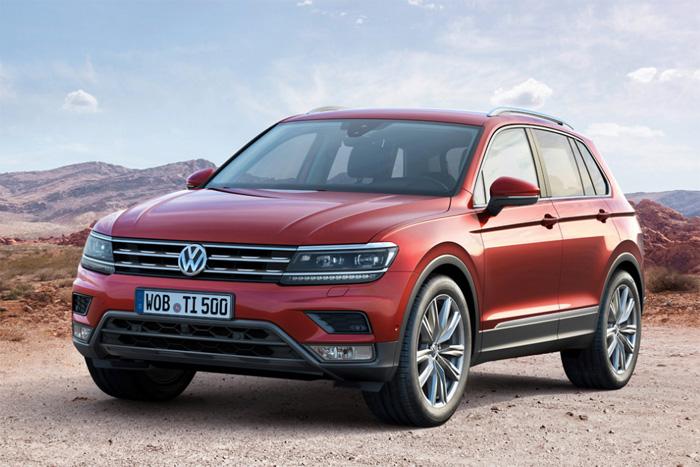 Volkswagen Tiguan второго поколения