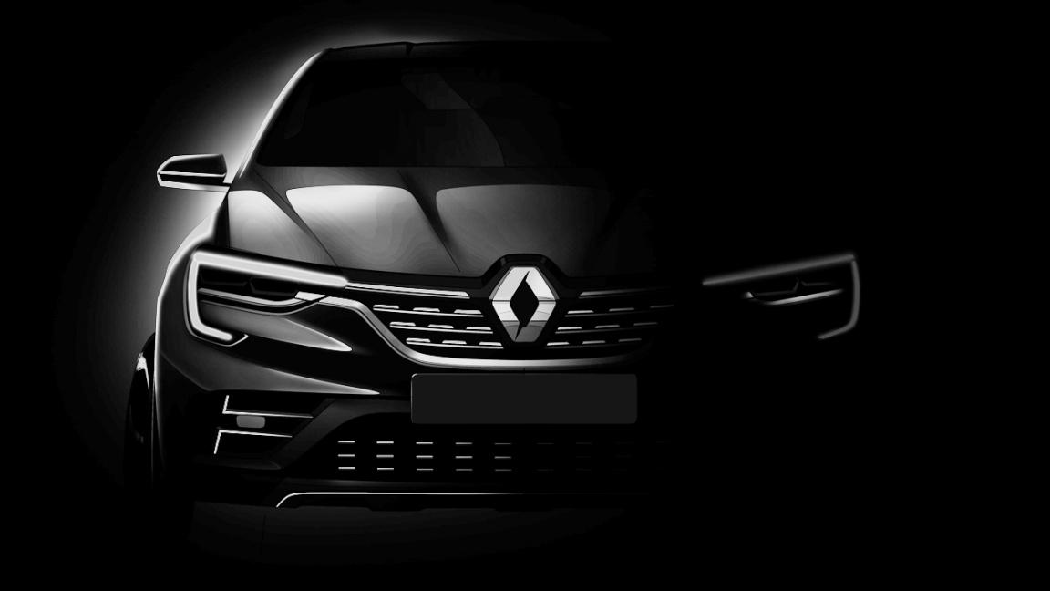 Renault показала первое изображение нового кроссовера для России