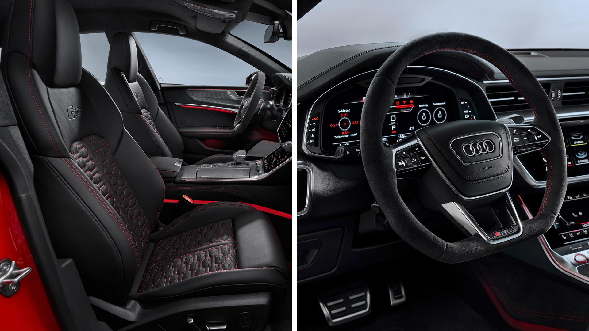 Audi привезла во Франкфурт «заряженный» RS7