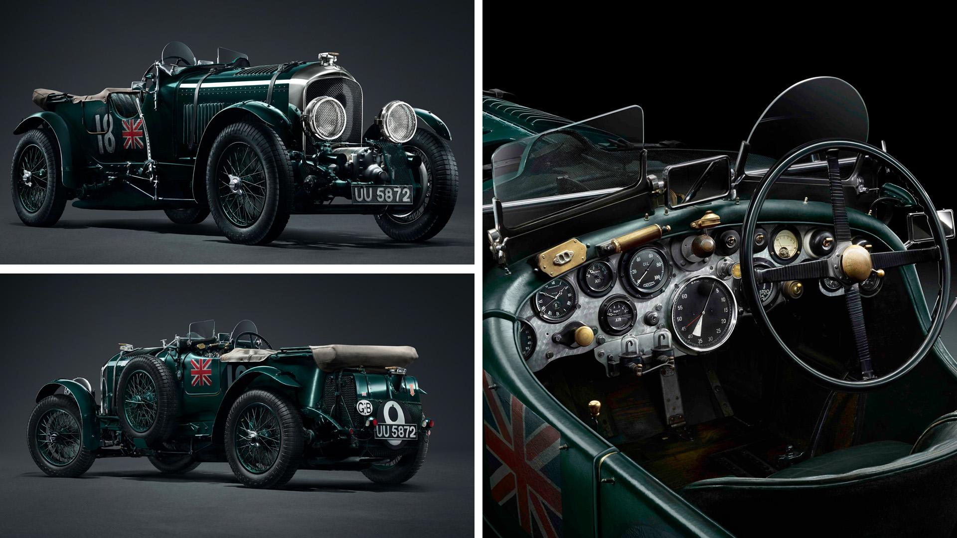 Bentley 4 ½ Litre Blower