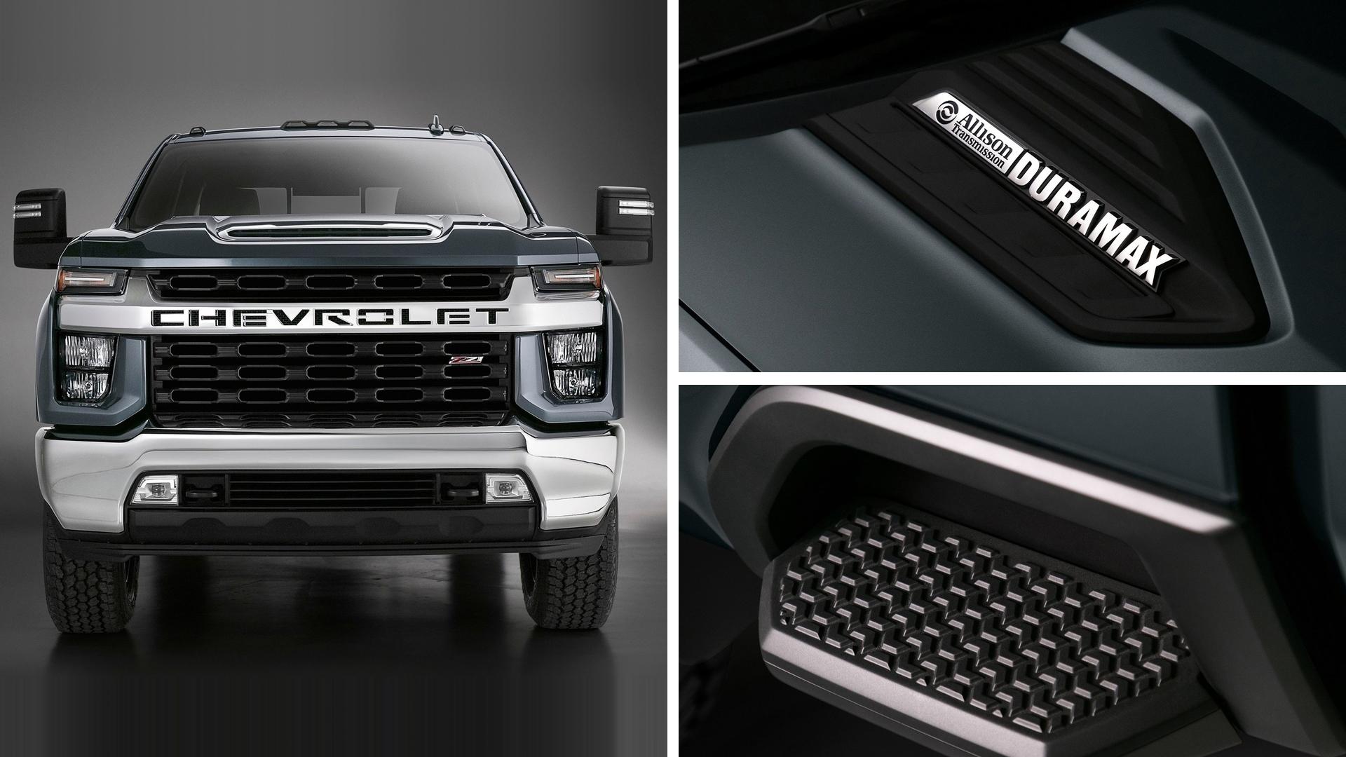Представлен большегрузный Chevrolet Silverado HD