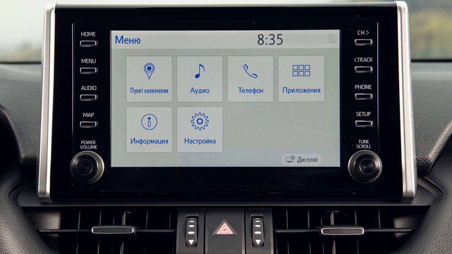 Тест-драйв Toyota RAV4 2019 равитация
