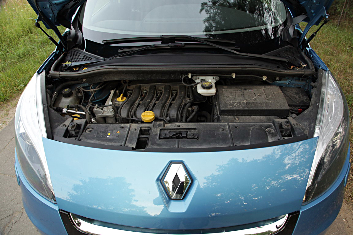 Renault Scenic: Шкатулка с секретом