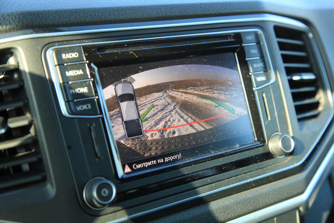 Volkswagen Amarok 2017 Мультимедиа система