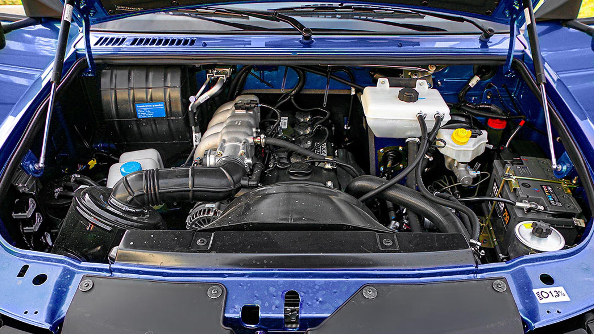 УАЗ Патриот модернизированный мотор ZMZ PRO