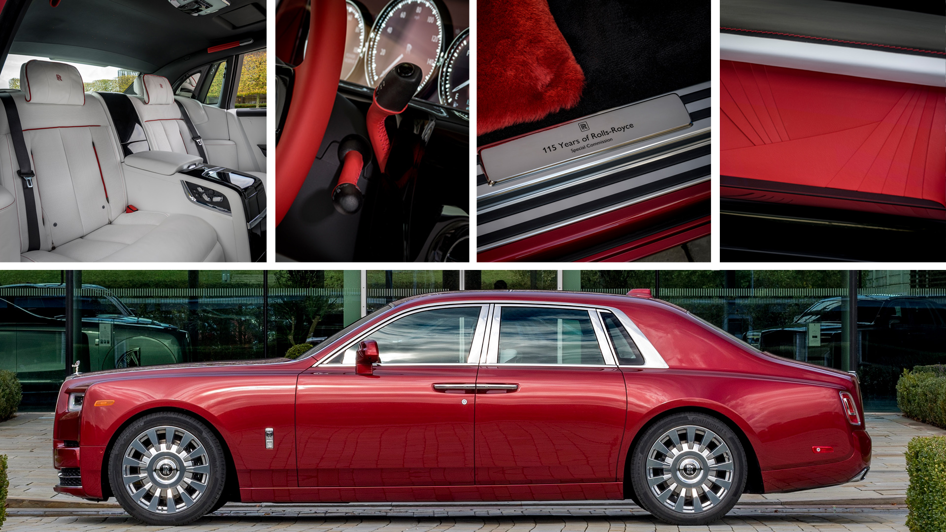 rolls-royce magma red