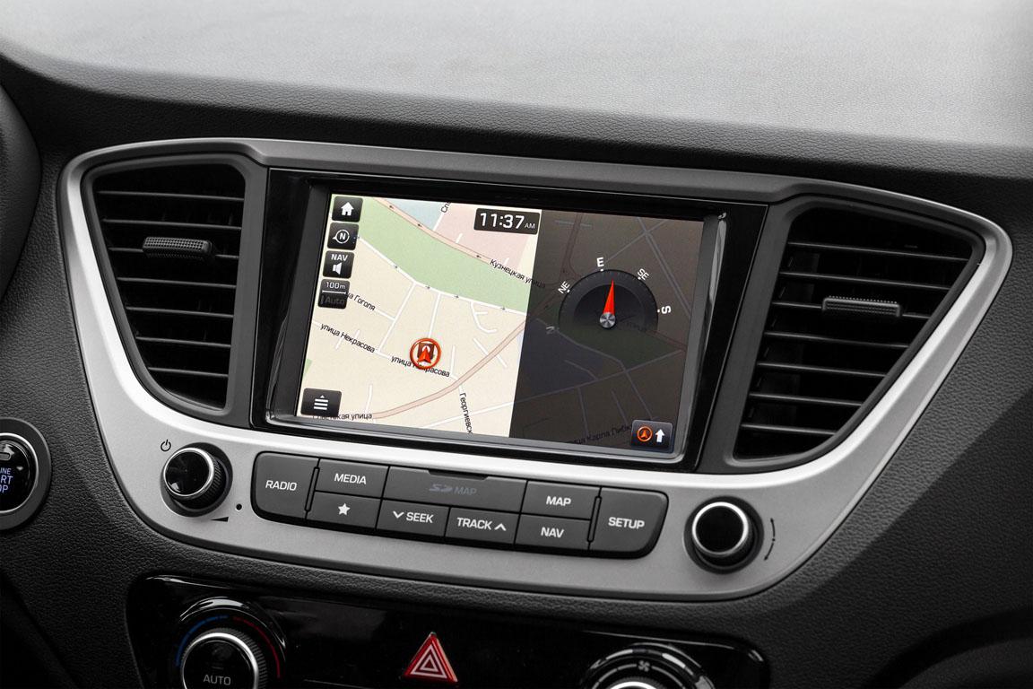 Hyundai Solaris Мультимедиа
