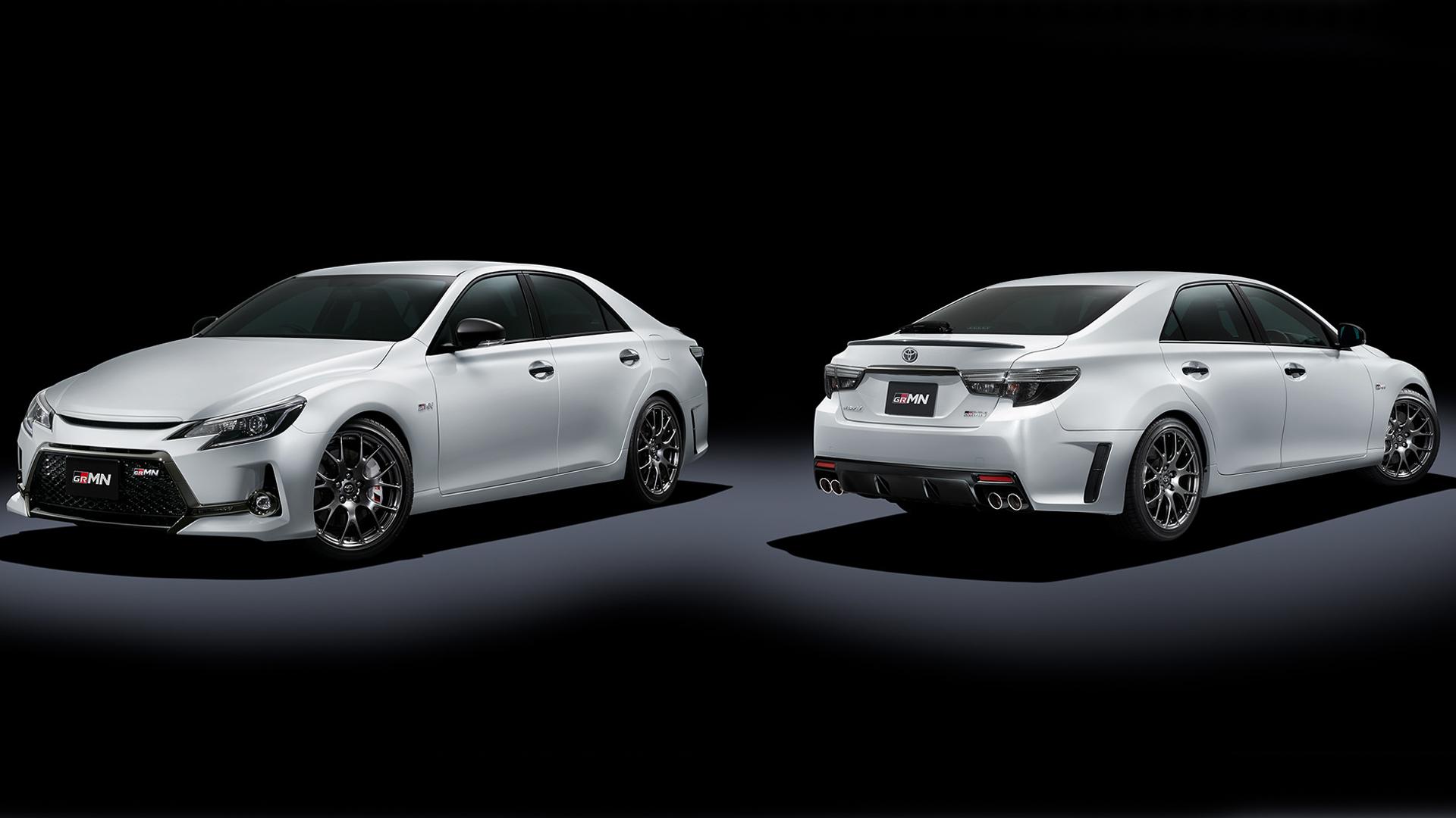 Toyota подготовила «заряженый» седана Mark X GRMN
