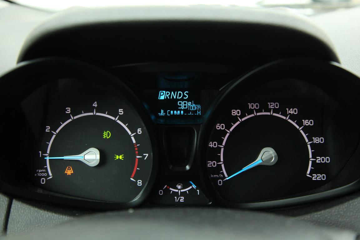 Ford EcoSport Панель приборов