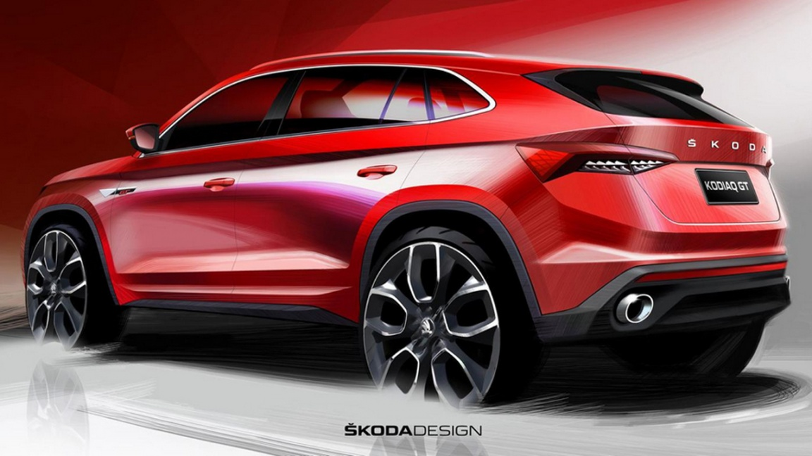Кросс-купе Skoda Kodiaq GT