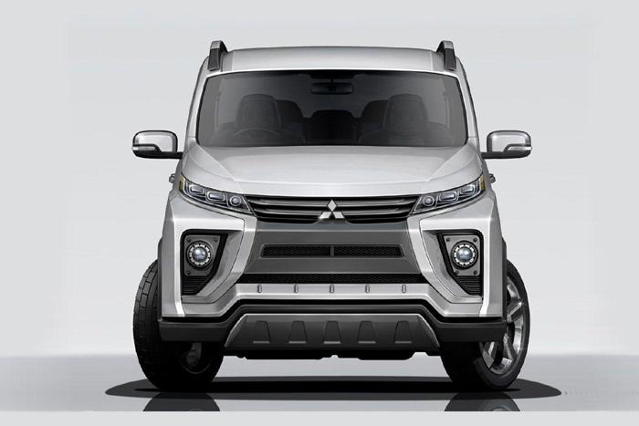 Mitsubishi Delica нового поколения